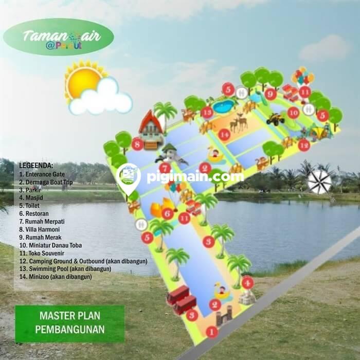 Lokasi Taman Air Percut Terbaru