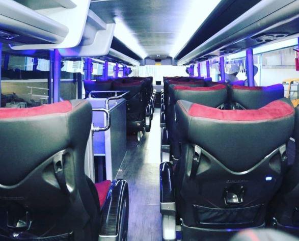 Fasilitas Pendukung Sewa Bus