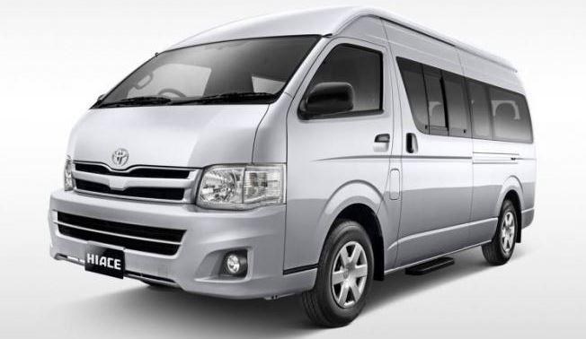 Mini Van Toyota Hiace